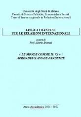 LINGUA FRANCESE - REL 2021-22