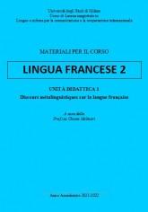 LINGUA FRANCESE 2  - LIN 2021-22