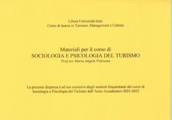SOCIOLOGIA  DEL TURISMO 21-22