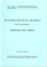 ECONOMIA POLITICA DEI MEDIA 21-22