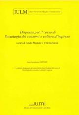 SOCIOLOGIA DEI CONSUMI 20-21
